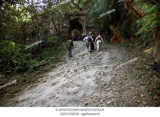 A way to Fort Bandhavgarh, Madhya Pradesh, India