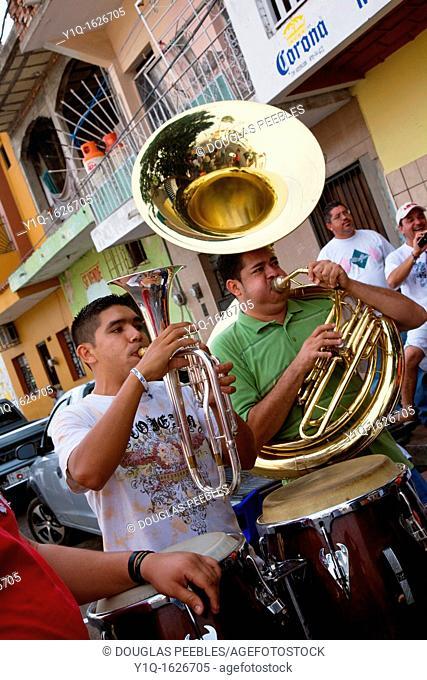 Musicians, Mazatlan, Sinaloa, Mexico