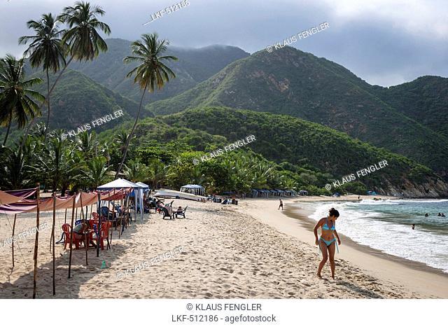 The Beach from Puerto Columbia, Henri Pittier National Park, Venezuela