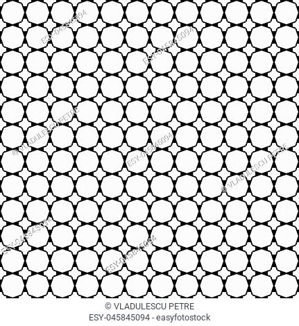 pattern with letter A black on white