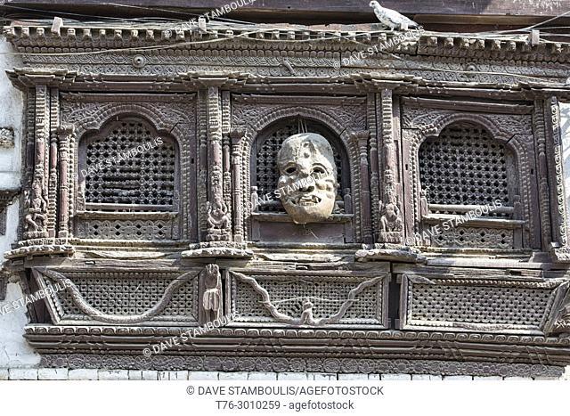 Traditional Newari architecture, Kathmandu, Nepal