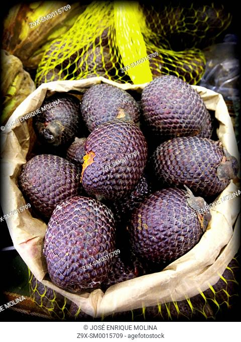Fruits of the Peruvian jungle