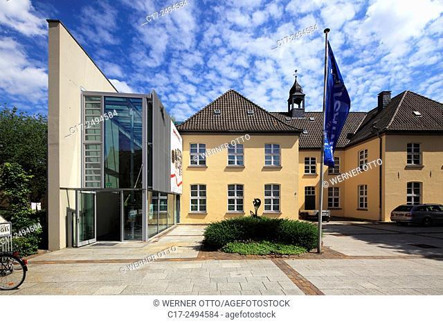 Germany, Dinslaken, Lower Rhine, Ruhr area, Rhineland, North Rhine-Westphalia, NRW, Museum Voswinckelshof, town history