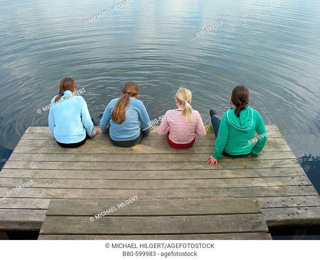 Girls. Kiel, Germany