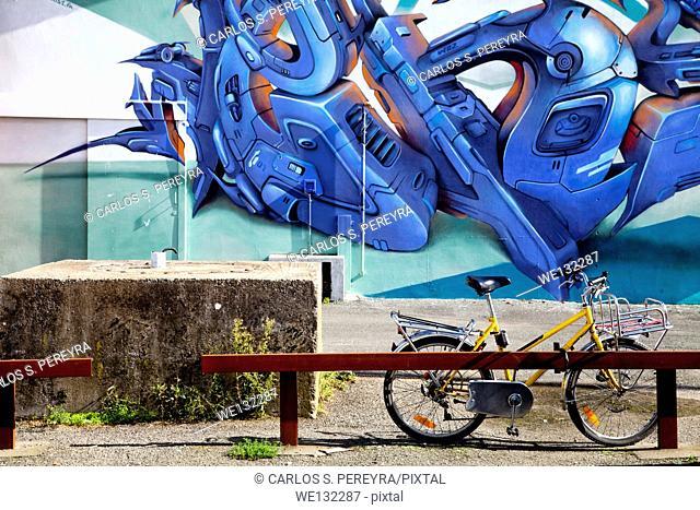 Street art in Nantes, France