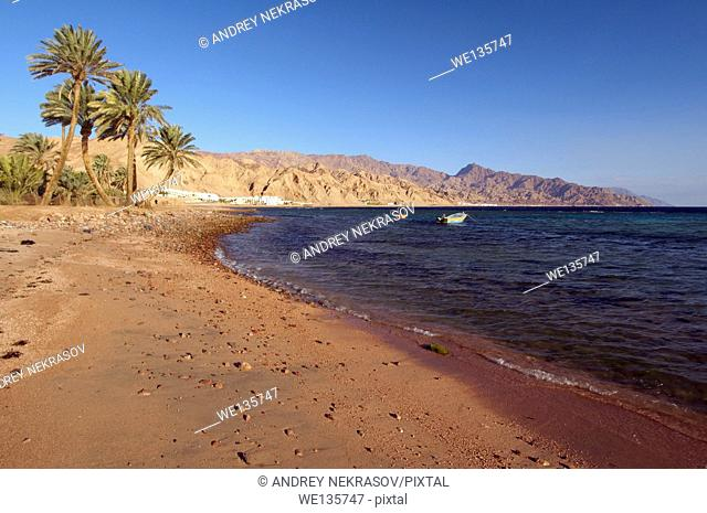 Beach, Dahab, Red Sea, Egypt, Africa