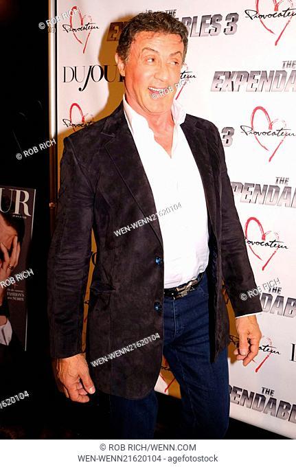 Sylvester Stallone Age 2014