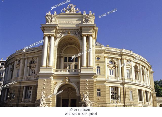 Odessa, Opera, Ukraine