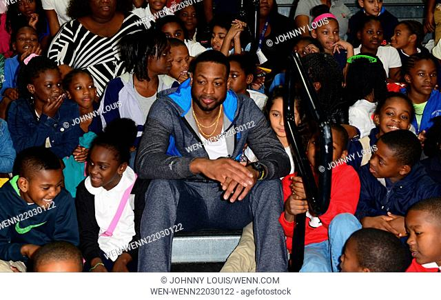 Dwyane wade wade visit Stock Photos and Images | age fotostock