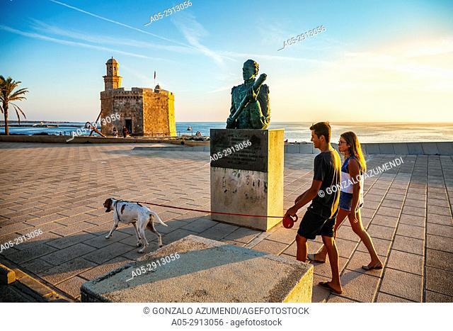 San Nicolas Castle. Ciutadella de Menorca City. Minorca. Balearic Islands. Spain