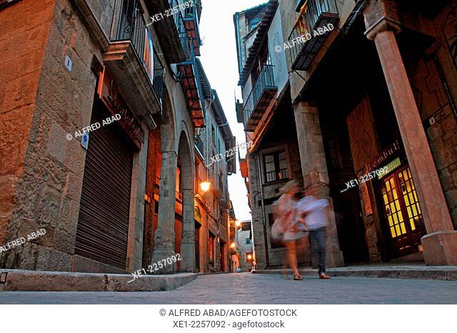 Street, Solsona, Catalonia, Spain
