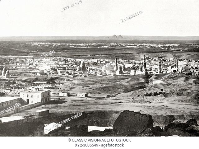 A view of Cairo, Egypt c. 1920. From The Wonders of the World, published c. 1920