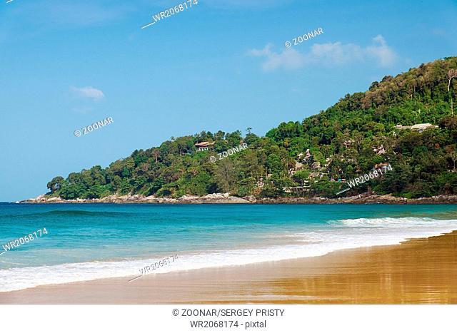 Karon beach on Phuket island