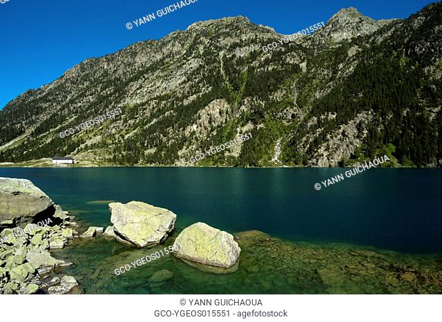 Lake Of Gaube, Cauterets, Hautes Pyrenees, France