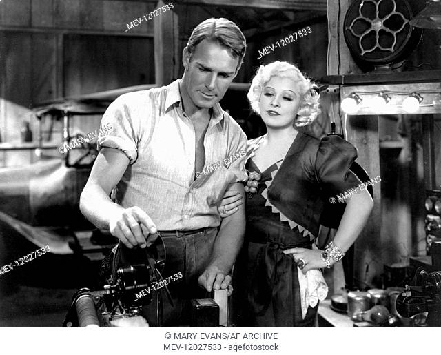 Randolph Scott & Mae West Characters: Bud Norton, Mavis Arden Film: Go West Young Man (1936) Director: Henry Hathaway 01 May 1936