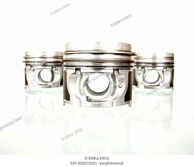 Pistons isolated