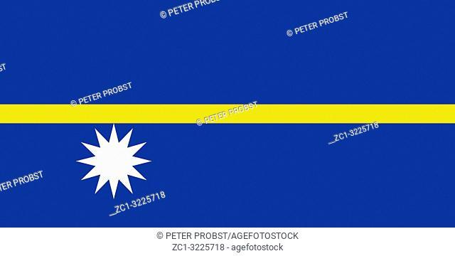Flag of the Republic of Nauru