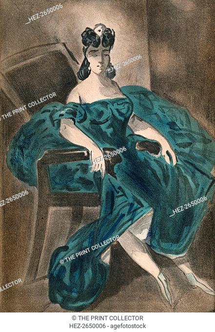 'Portrait II', 1865, (1939). Artist: Constantin Guys