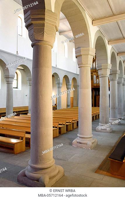Town church, former minster, Stein at the Rhine, Lake of Constance, Thurgau, Switzerland