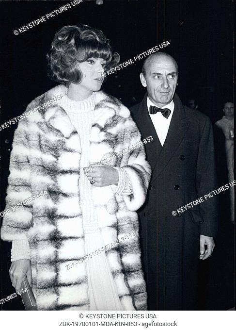 Jan. 1, 1970 - Actress Sylva Koscina announces the end of her marriage with Raimondo Castelli. The wedding was celebrated about ten year ago in Mexico City