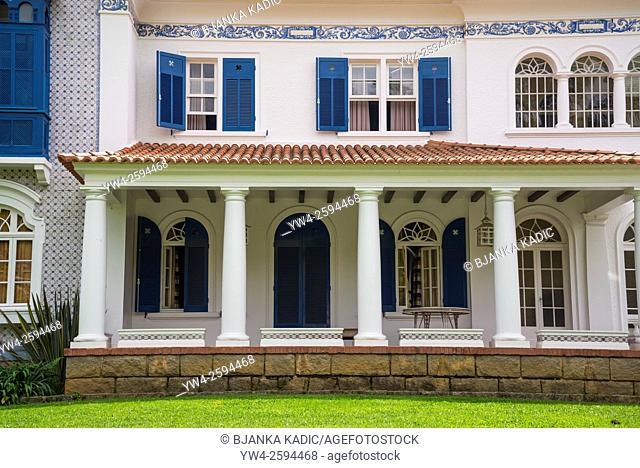 19th century house, Petropolis, state of Rio de Janeiro, Brazil