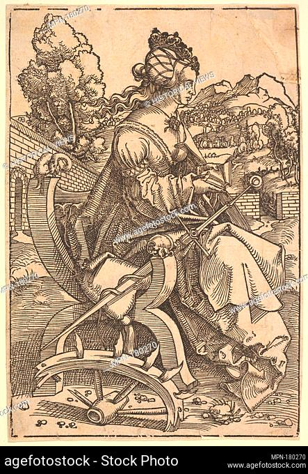 St. Catherine. Artist: Hans Baldung (called Hans Baldung Grien) (German, Schwäbisch Gmünd (?) 1484/85-1545 Strasbourg (Strassburg)); Date: ca