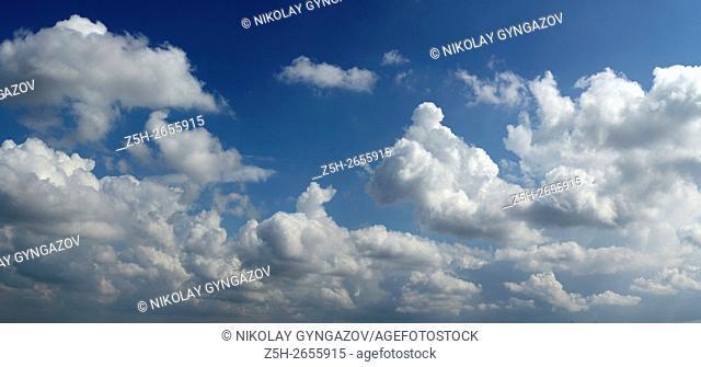 Russia. Belgorod region. Clouds