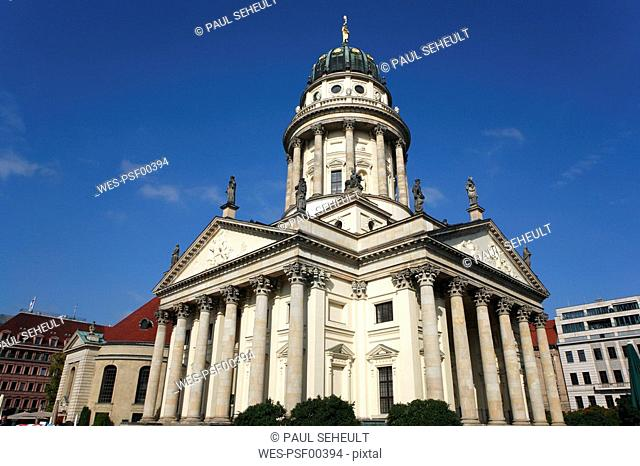 Germany, Berlin, Gendarmenmarkt, French cathedral