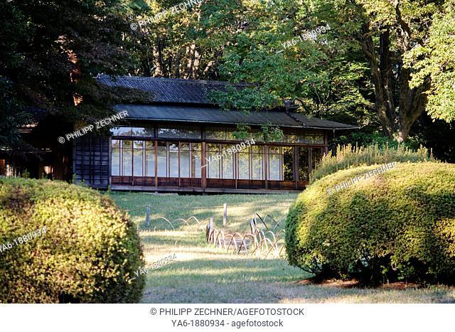 Tea house in Meiji Jingu Gyoen