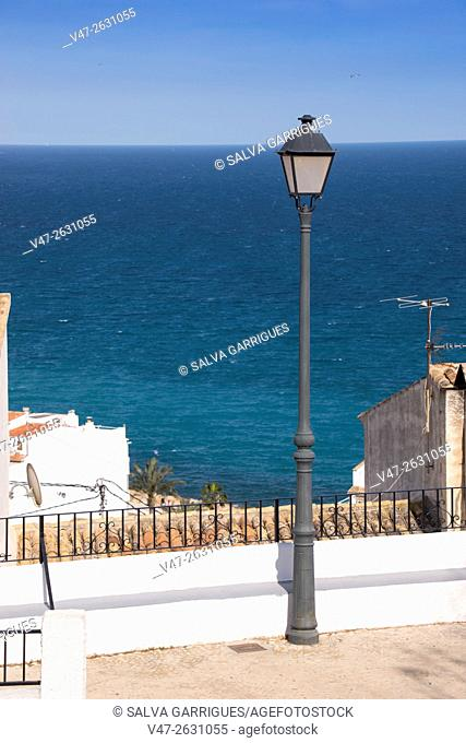 Viewpoint village of Altea, Costa Blanca, Alicante, Valencia, Spain, Europe