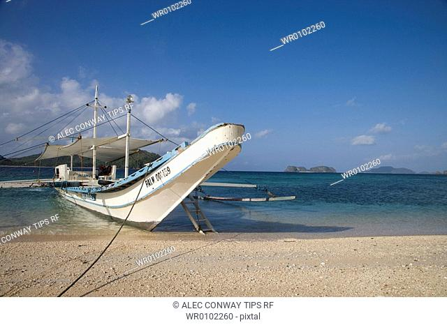 Philippines, Palawan, el nido, the beach