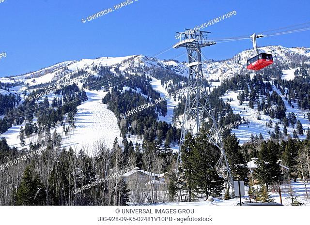 Jackson Hole, Wyoming. Ski Tram