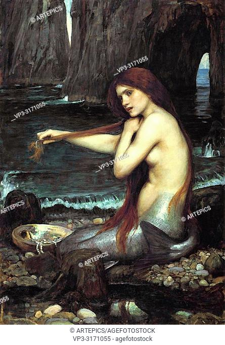 Waterhouse John William - a Mermaid 2