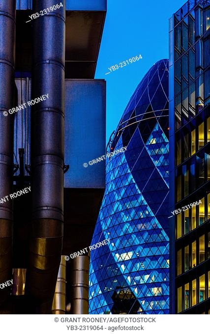 30 St Mary Axe (The Gherkin) London, England