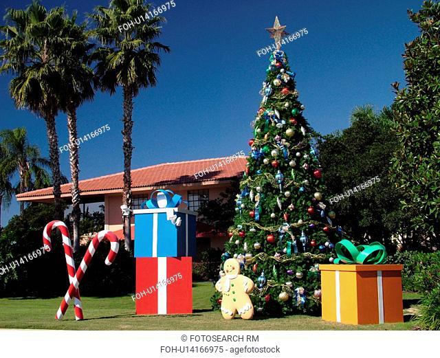 Orlando, FL, Florida, Orange Lake Resort, Christmas decorations
