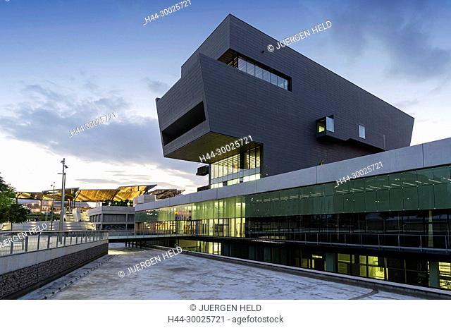 Disseny Hub, Nou Mercat dels Encants, Barcelona, Catalunia, Spain