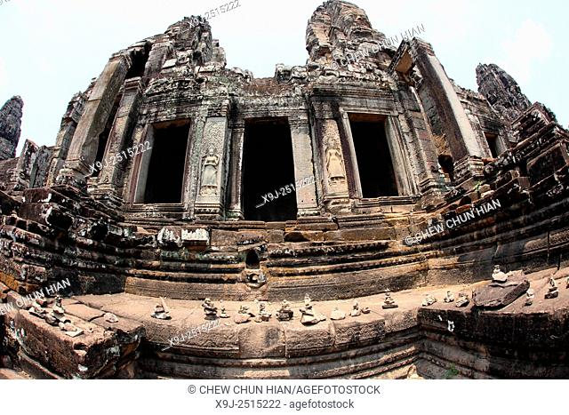 Bayon temple, Angkor thom, UNESCO World Heritage Site, Siem Reap