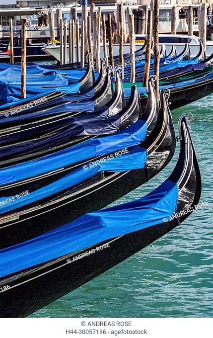 Italy, Venezia, Venice, canal, gondola