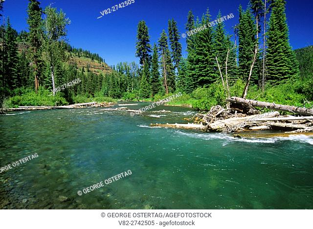 Imnaha Wild & Scenic River, Hells Canyon National Recreation Area, Oregon