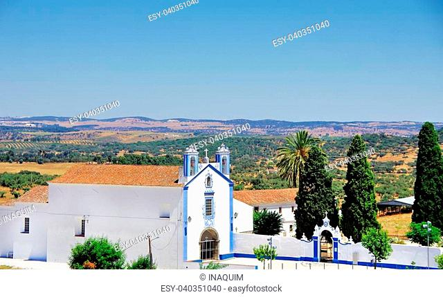 Old church at Redondo village, Portugal