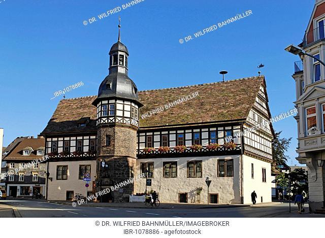 Town Hall, Hoexter, North Rhine-Westphalia, Germany, Europe