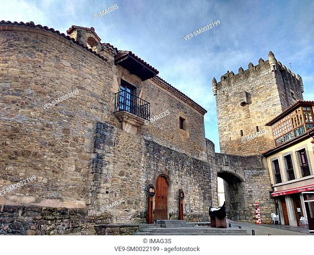 Castle, Slas, Asturias, Spain