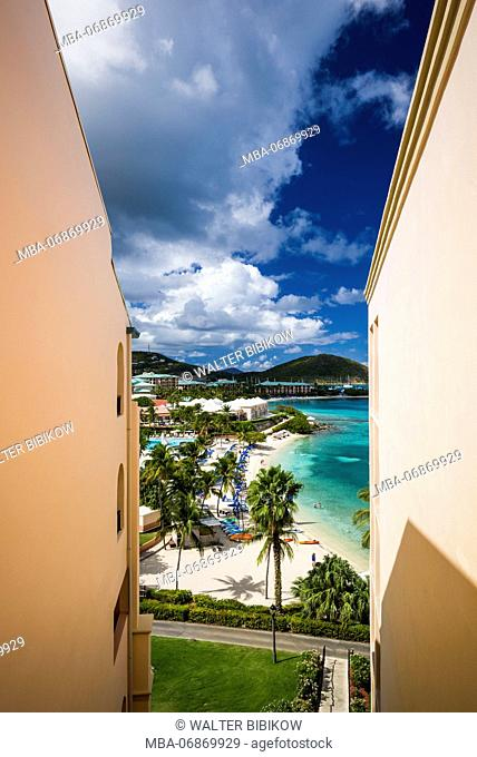 U.S. Virgin Islands, St. Thomas, Great Bay, The Ritz Carlton St. Thomas, beach