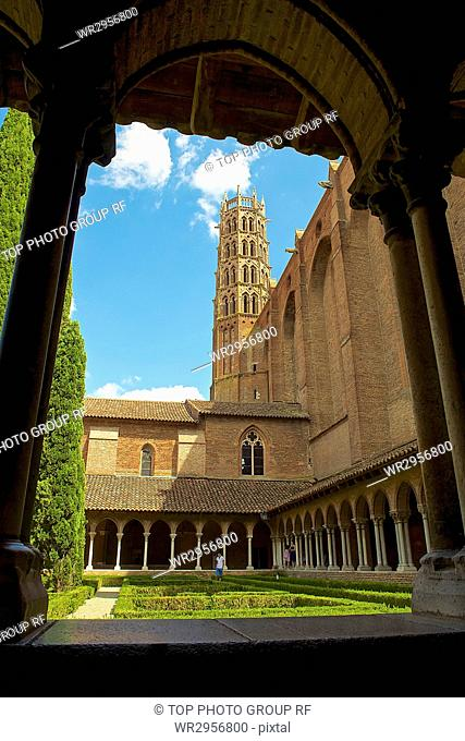 The Cloisters of Couvent des Jacobins, Toulouse, France