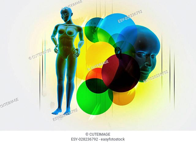 woman female human body