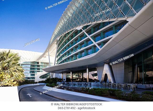 UAE, Abu Dhabi, Yas Island, Viceroy Hotel