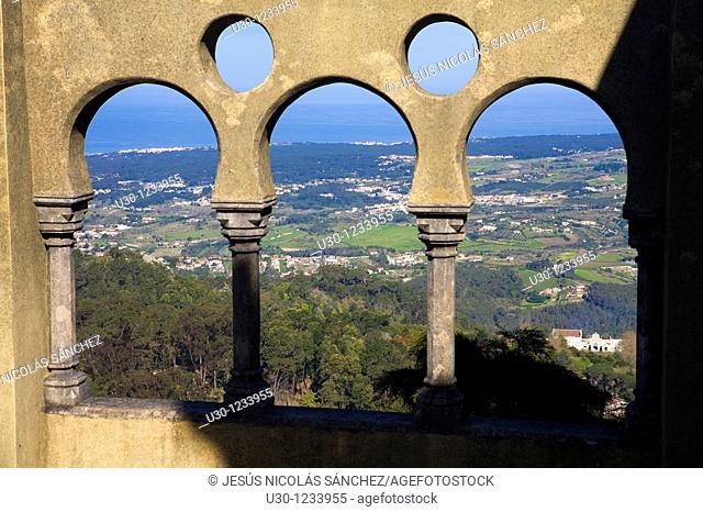 Da Pena Castle, Sintra, UNESCO World Heritage Site  Lisboa district  Portugal