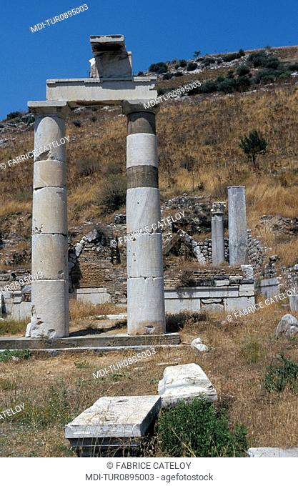 Archeological site - One of the oldest and most important Greek cities of Asia Minor - The prytaneion