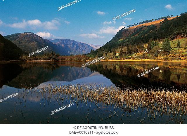 Glendalough Lower Lake, County Wicklow, Ireland