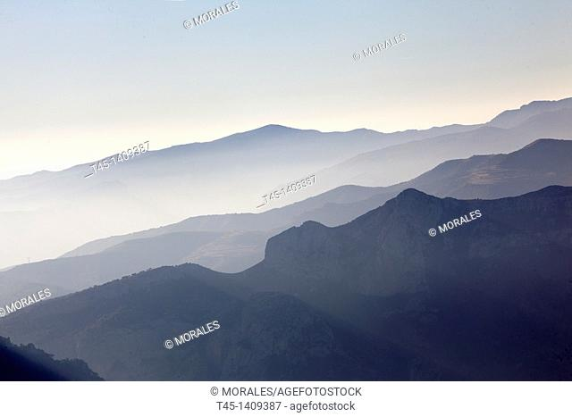 Pre-pyrenees mountains, Lleida province, Catalonia, Spain